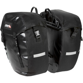 Red Cycling Products Urban Twin Dubbele Bagagedragertas, black